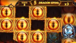 carmine Tiger's novel Dragons flaming InfiniReels Goes large!!! – Huge Win!