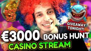 large BONUS HUNT – Live casino bonus current with mrBigSpin! Slots large Wins Time!