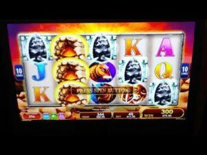large WIN ON MAMMOTH SLOTS BETTING $11.25 ON QUARTERS AT WINSTAR casino bonus