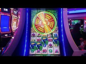 large WIN ON WILD LEPRECOINS SLOTS At Winstar  casino bonus