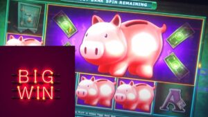 large WIN PIGGY ~ BANKIN' BONUS 🐷 RESORTS WORLD casino bonus, NYC