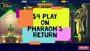 large WIN | Pharaoh's homecoming 💰existent Money💰 Chumba casino bonus | On-line | Slot Play 🎰 #Chumba