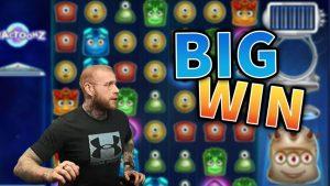large WIN!! Reactoonz Epic Win – casino bonus Games from MrGambleSlots Live flow