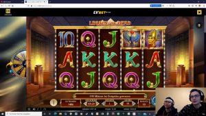 large WIN inwards Legacy of Dead!😱//casino bonus solar daytime🥳
