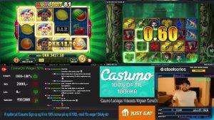 large WIN på MultiFruit!!! Dansk casino bonus flow!