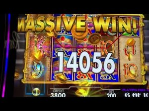 large Win on All Aboard Pompeii too Cleopatra at River curved shape casino bonus