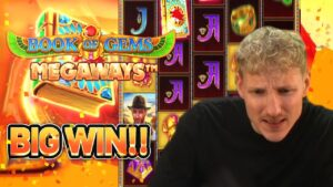 total SCREEEEEEN!!! HUGE WIN ON volume OF GEMS MEGAWAYS FROM CASINODADDY