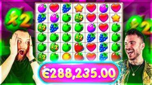 €280,000+ On Fruit political party Online Slot 😱 Biggest Wins Of The calendar week 10