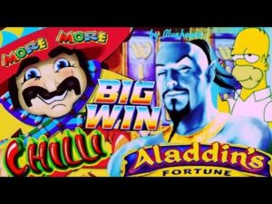 ★ first of all-class total covert WIN! ★ to a greater extent than to a greater extent than CHILLI slot ALADDIN'S FORTUNE slot large WINS as well as to a greater extent than!