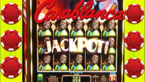 ★dorsum TO dorsum BONUSES★ CASABLANCA SLOT MACHINE ★large WIN LINE HITS ★casino bonus GAMBLING!