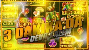 3 DAKİKA DA DEVR-İ ALEM | #casino bonus #Slot #Bigwin