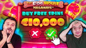 7x Huge BONUS BUYS on Canis familiaris House Megaways Online Slots