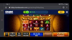 Chumba casino bonus Bonus as well as large Win as well as Mega Win on Long Zhi Bao Zang  🐉🐲