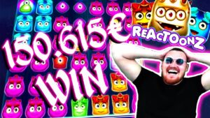 ClassyBeef 150.615€ Win on Reactoonz Slot – Daily Dose of Gambling #52