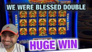 DOUBLE BLESSINGS SLOT BLESSED US! HUGE WIN @ RIVER SPIRIT casino bonus! DRAGON RISING & CASH VAULT BONUES!