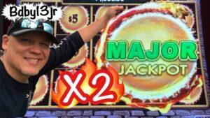 DRAGON LINK Slot Machine 💥 HUGE WIN !! | cherry-red Hawk casino bonus