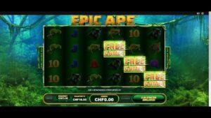 EPIC APE large WIN casino bonus GAME