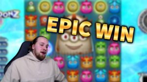 EPIC WIN! Reactoonz 2 Huge Win – casino bonus Games from MrGambleSlots Live flow