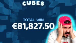 EXTRA MEGA large WIN! Streamer Super Win on Cubes Slot! BIGGEST WINS OF THE calendar week! #53