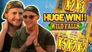 GOLDEN WILD FALLS! HUGE WIN ON casino bonus GAME FROM CASINODADDY