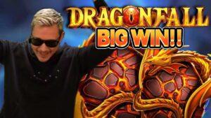 HUGE WIN!! DRAGONFALL large WIN – ONLINE casino bonus SLOT FROM CASINODADDY LIVE current