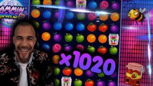 HUGE WIN! Streamer win x1100 inwards casino bonus Slots! BIGGEST WINS OF THE calendar week! #20