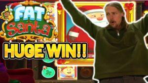 HUGE WIN!! obese SANTA  large WIN – ONLINE casino bonus SLOT FROM CASIINODADDY LIVE current