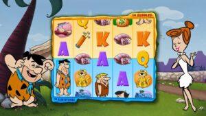 Hot Shot casino bonus   What a large Win with the Flintstones