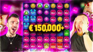 Insane Win €150,000 on REACTOONZ   Biggest Wins of the calendar week nine!