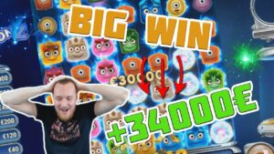 MEGA WIN! Streamer win 34 000 € inward casino bonus Slots! BIGGEST WINS OF THE calendar week! #6