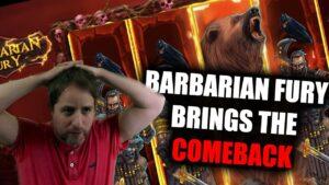 🔥MEGA large casino bonus WIN ON BARBARIAN FURY🔥 COMEBACK LIVE ON flow | Nolimit metropolis Slot Provider