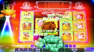MOOLAH BONUS large WIN!!! Invaders onslaught From The Planet Moolah – 1c Slot Machine inwards Morongo casino bonus