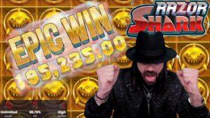 ROSHTEIN – novel Insane €195.000 win on Razor Shark!!!