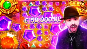 ROSHTEIN novel Insane Win 55.000€ on Gems Bonanza Slot – TOP 5 Mega wins of the calendar week