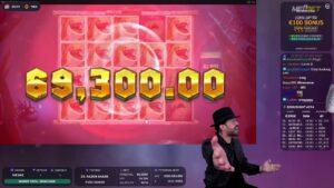 Roshtein  Wins 195.235€ (3905x) RAZOR SHARK – Online casino bonus large Win