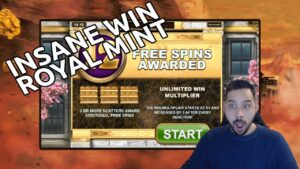 Royal Mint large win – Freshly released together with already a massive win