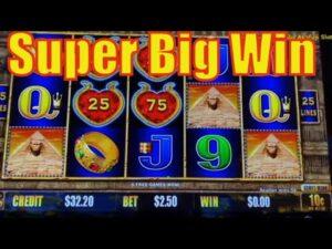 SUBARASHI ! EGYPTIAN JEWELS Bet $2.50 – Wonderful Super large Win – Dollar tempest @Pechanga casino bonus 赤富士