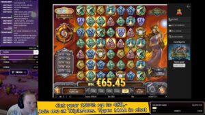 Super large win on Viking Runecraft at tripleaces casino bonus