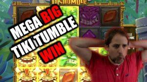 😱TIKI TUMBLE COMEBACK IS existent!😱 MEGA casino bonus large WIN LIVE ON flow!   force Gaming Slot