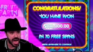 TOP 5 tape WINS OF THE calendar week ★ ULTRA EPIC large WIN ON FRUIT political party SLOT