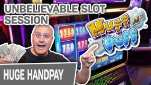 🐖 UNBELIEVABLE Huff N' Puff Slot Session! 2️⃣ ii Jackpots + v to a greater extent than large Wins!
