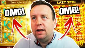 WOW THAT'S INSANE!!! HIGH STAKES MASSIVE WIN on Dragons Luck Slot! *total concealment*