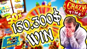 Xposed 150.300$ Win on Crazy Time – TOP 10 Biggest Wins of the calendar week #11