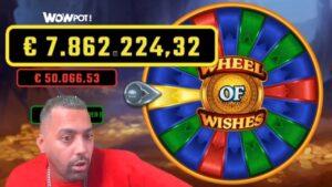 go out JAGD NACH DEM 7.8 MILLIONEN JACKPOT!! 😱🤑💰 | WHEEL OF WISHES 🎰 | Al Gear casino bonus current Highlights