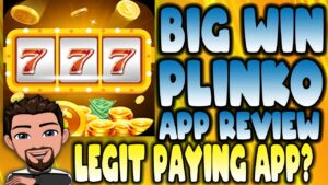 large WIN PLINKO APP REVIEW |  LEGIT PAYING APP? | $1 MIN WITHDRAWAL? |  EARN PAYPAL MONEY?