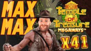 large WIN: Temple Of Treasure MAX MAX MAX Bonus