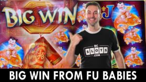 🎉 large WIN from FU BABIES on Zhen Chan 🎰 $7.68 a Spin at Agua Caliente