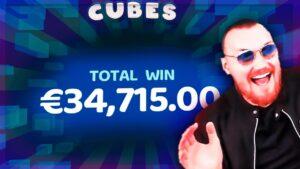 large WIN inward CUBES SLOT ⭐ TOP WINS ONLINE casino bonus STREAMERS