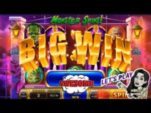 large WIN on Monster Spins | Chumba casino bonus | existent Money