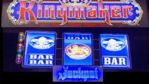 large WIN on virile individual monarch Maker Dollar Slot @ Chumash casino bonus #casino bonus #slotman
